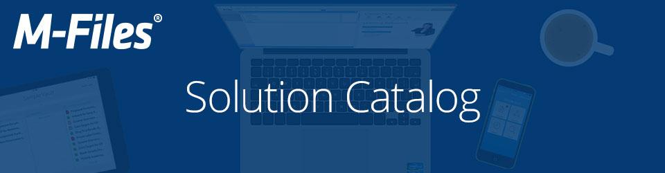M-Files Solution Catalog